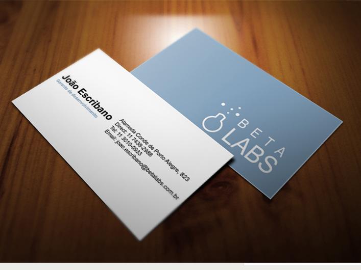 Cartão de Visitas - Betalabs
