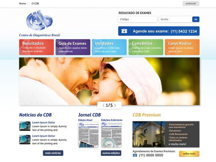 CDB - Site por Cah Felix