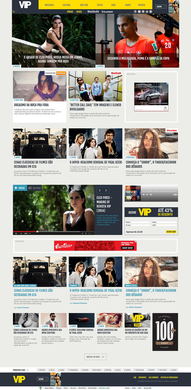 VIP - Magazine Site