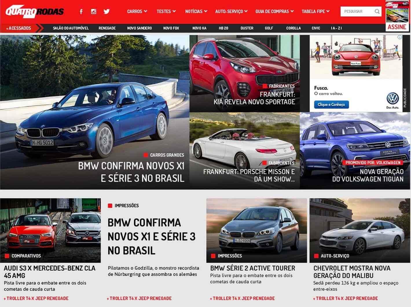 Portal Revista Quatro Rodas