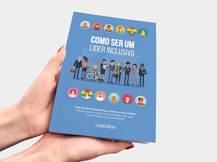 Arte de Capa de Livro - Como ser um Líder Inclusivo